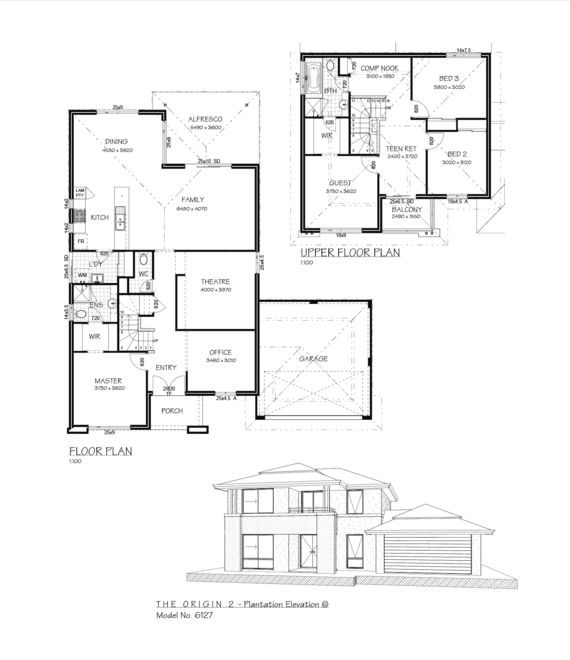 the origin 2 plantation by in vogue house and land perth House Plans Perth Wa the origin 2 plantation floor plan house plans perth wa