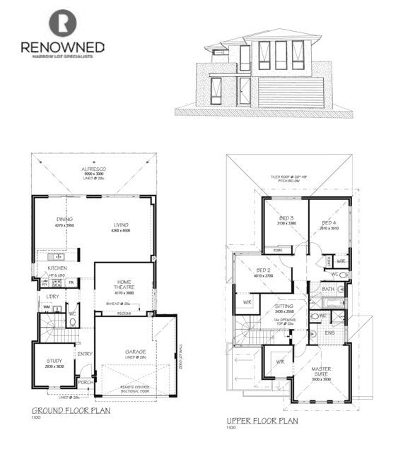 The davis by renowned collection house and land perth for Davis homes floor plans